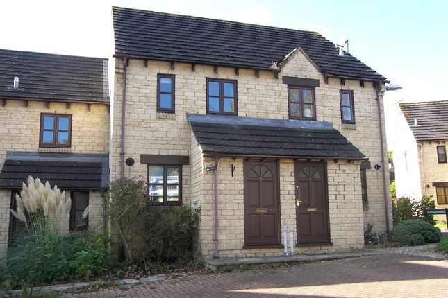 Thumbnail Terraced house to rent in Hereford Close, Chippenham