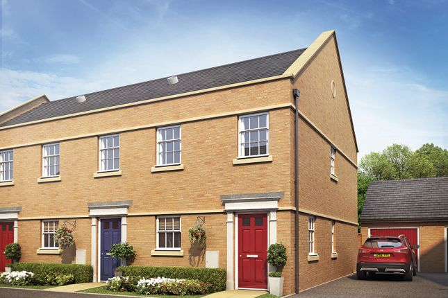 Thumbnail End terrace house for sale in Sandpit Lane, Thorney