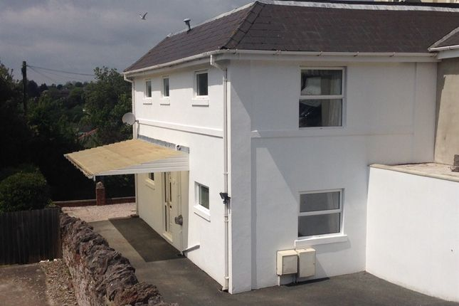 Thumbnail Semi-detached house for sale in Shirburn Road, Torquay