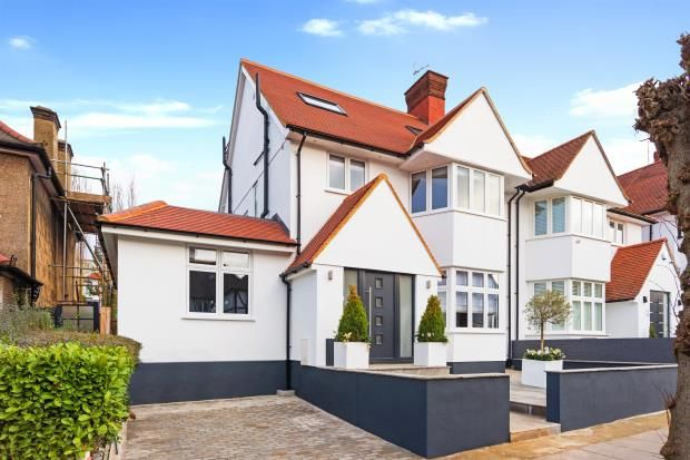 Thumbnail Semi-detached house for sale in Dunstan Road, Golders Green, London
