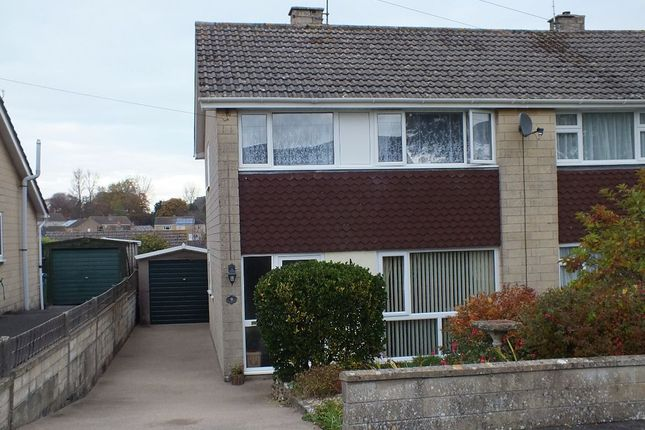 Thumbnail Semi-detached house for sale in Burn Road, Corsham, Wiltshire
