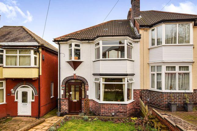 Thumbnail Semi-detached house for sale in Woolmore Road, Erdington, Birmingham