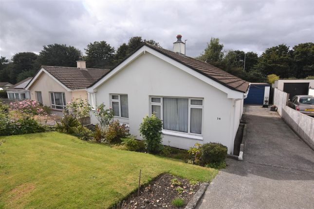 Thumbnail Detached bungalow for sale in Trebarva Close, Redruth