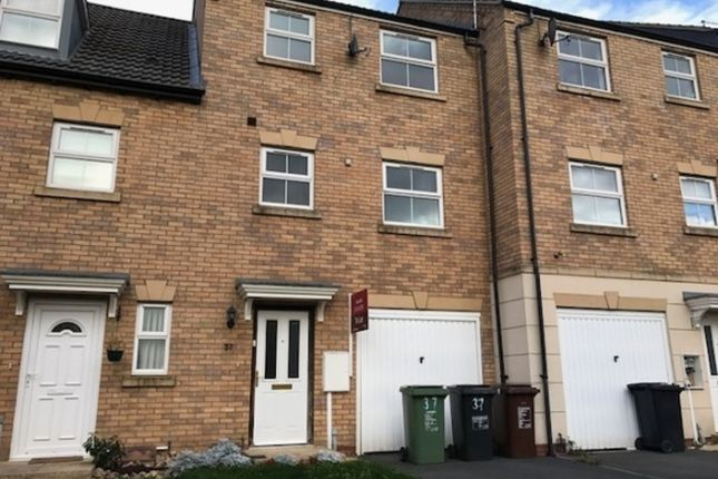 Thumbnail Terraced house to rent in Carlisle Close, Corby