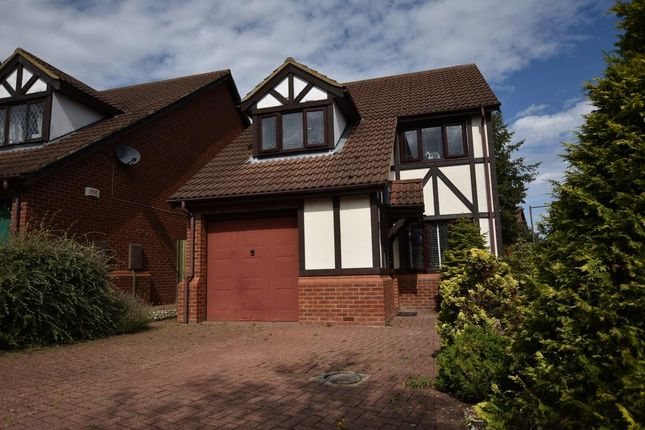 Thumbnail 3 bed detached house for sale in Paxton Crescent, Shenley Lodge, Milton Keynes