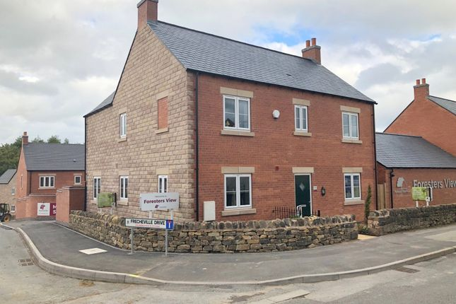 Thumbnail Detached house for sale in Frecheville Drive, Fritchley, Belper