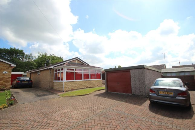 Thumbnail Detached bungalow for sale in East Dale Close, Hemsworth, West Yorkshire
