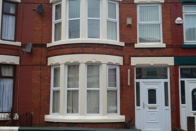 Thumbnail Terraced house to rent in Gidlow Road South, Anfield, Liverpool, Merseyside