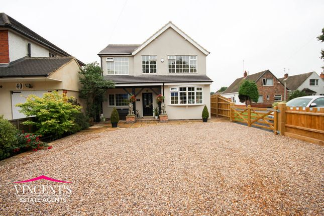 Thumbnail Detached house for sale in Hinckley Road, Leicester Forest East