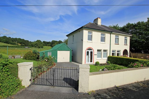 Thumbnail Semi-detached house for sale in Wellfield Road, Abergwili, Carmarthen, Carmarthenshire