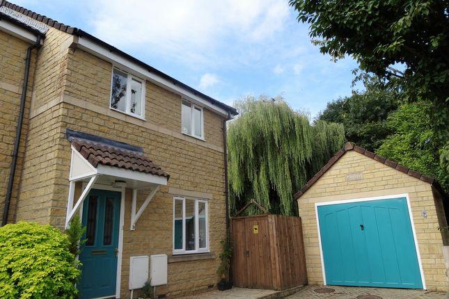 Thumbnail End terrace house for sale in Cotswold View, Southdown, Bath