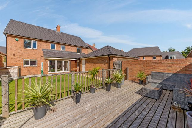 Thumbnail Detached house for sale in Eden Walk, St. Mary Park, Stannington, Northumberland