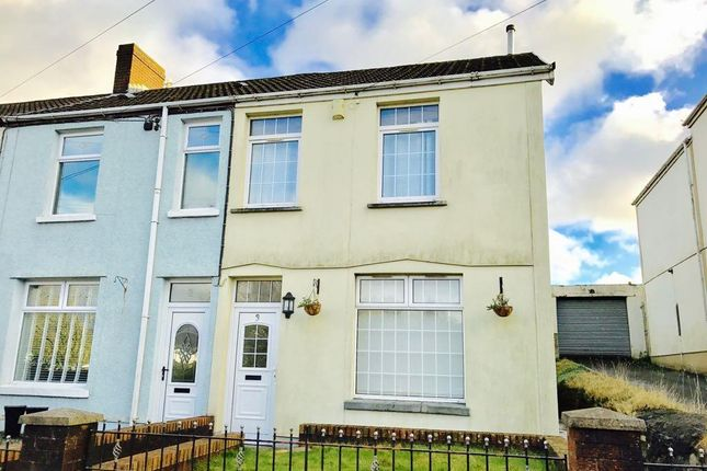 End terrace house to rent in Meirion Place, Heolgerrig, Merthyr Tydfil