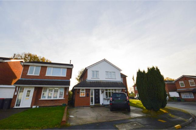 Thumbnail Detached house for sale in Birchfield Close, Wood End