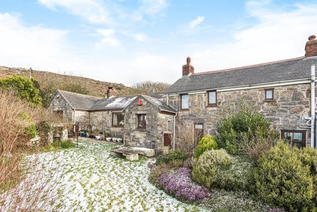 Thumbnail Semi-detached house for sale in Zennor, St. Ives, Cornwall