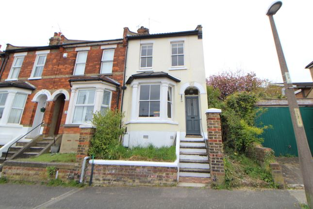 Thumbnail End terrace house for sale in Cornwall Road, Rochester