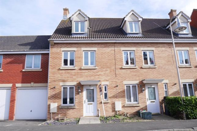 Thumbnail Town house to rent in Reed Way, St. Georges, Weston-Super-Mare