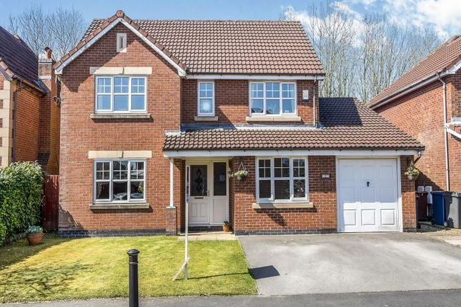 4 bed detached house for sale in Hedgerows Road, Leyland