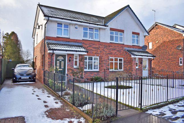 Thumbnail Semi-detached house for sale in 9A Stoneyflatt Road, Dumbarton