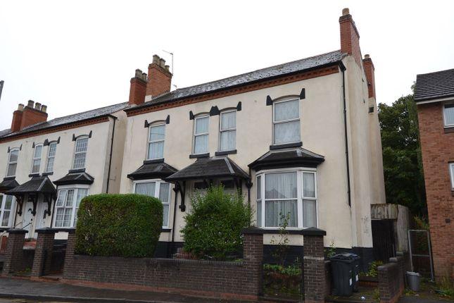 Thumbnail Semi-detached house for sale in Edgbaston Road, Balsall Heath, Birmingham