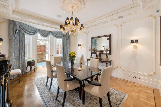 Dining Room of Draycott Place, Chelsea, London SW3