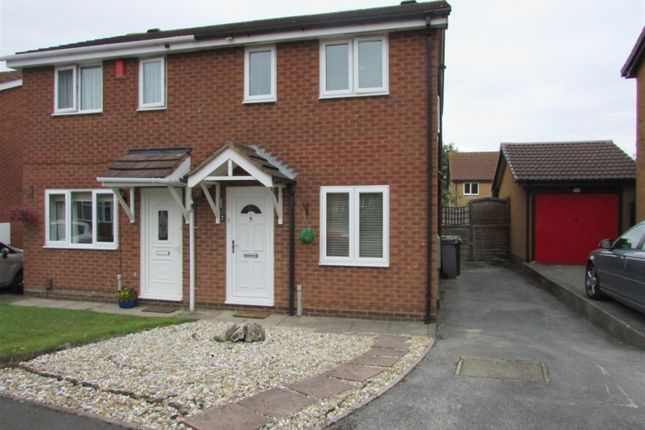 Thumbnail Semi-detached house to rent in Cryersoak Close, Monkspath