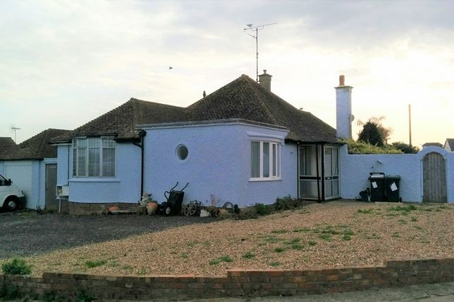 Thumbnail Detached bungalow to rent in Lismore Road, Whitstable