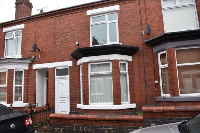 Thumbnail Terraced house to rent in Culland Street, Crewe