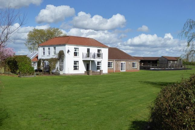 Thumbnail Equestrian property for sale in Sibsey - Boston PE22, Lincolnshire,