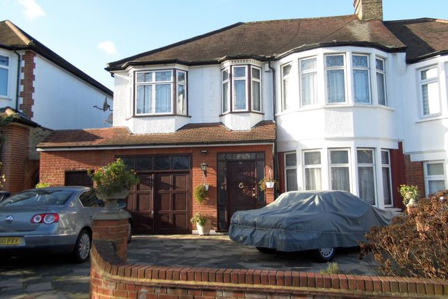 Thumbnail Semi-detached house for sale in Woodland Way, Winchmore Hill
