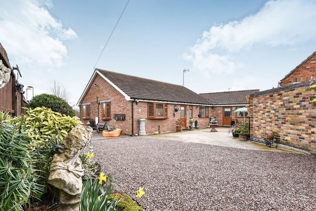 Thumbnail Detached bungalow for sale in The Peterleas, Donisthorpe, Swadlincote, Derbyshire