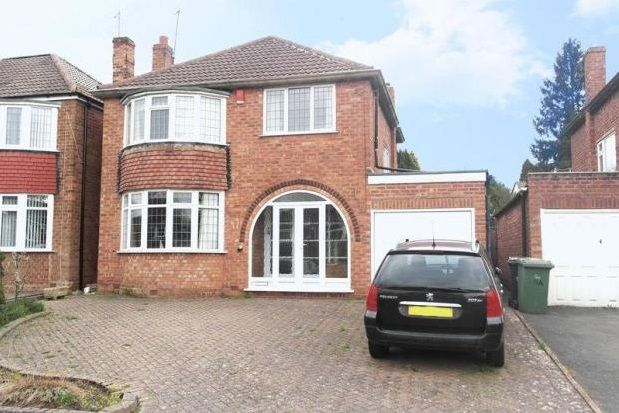 Thumbnail Detached house to rent in Woodside Close, Walsall