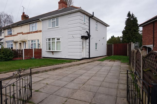 Thumbnail End terrace house for sale in Firbeck Grove, Birmingham