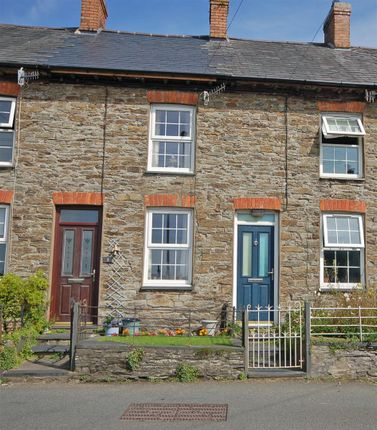 Thumbnail Terraced house for sale in Wesley Terrace, Taliesin, Machynlleth