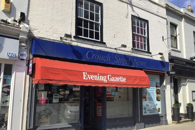 Thumbnail Retail premises for sale in Crouch Street, Colchester
