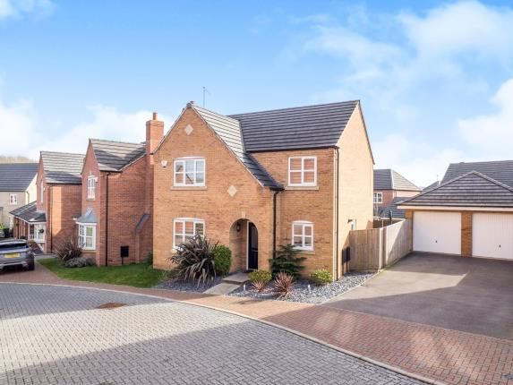 Thumbnail Detached house for sale in Dane Grove, Annesley, Nottingham, Nottinghamshire