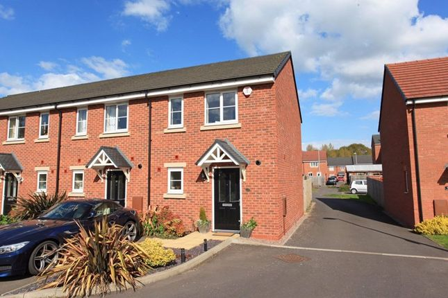 Thumbnail Terraced house to rent in The Ashes, St. Georges, Telford