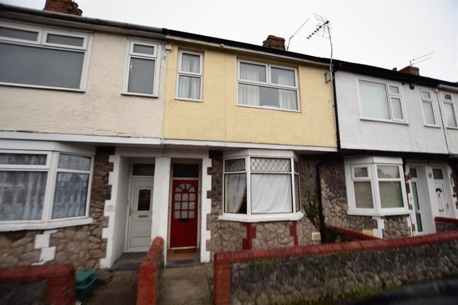 Thumbnail Terraced house for sale in Edward Street, Barry