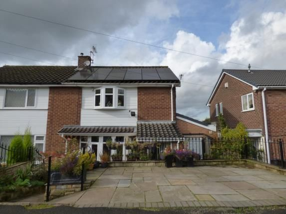 Thumbnail Semi-detached house for sale in Arnold Road, Gee Cross, Hyde, Greater Manchester