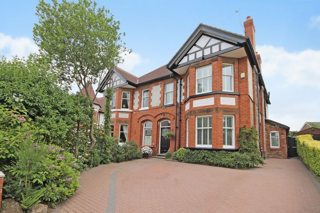 Thumbnail Semi-detached house for sale in Victoria Road, Grappenhall, Warrington
