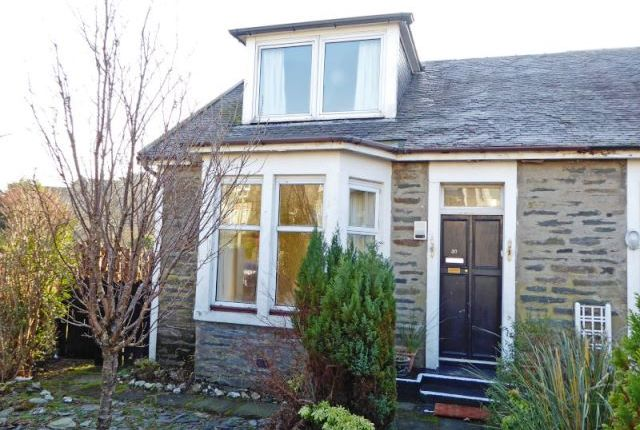 Thumbnail Semi-detached house for sale in Royal Crescent, Dunoon