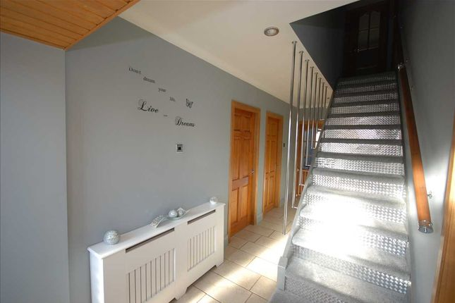 Staircase Leading To Top Landing