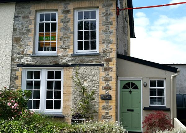 2 bed semi-detached house for sale in New Inn, Pencader, Carmarthenshire, West Wales