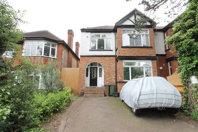 Thumbnail Maisonette for sale in Sherwood Park Road, Sutton
