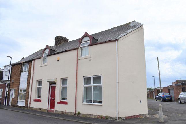 Thumbnail End terrace house for sale in Grafton Street, Millfield, Sunderland