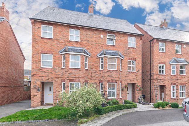 Thumbnail Semi-detached house for sale in Teasel Drive, Desborough, Kettering