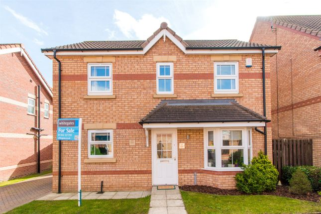 Thumbnail Detached house for sale in Evans Court, Armthorpe, Doncaster