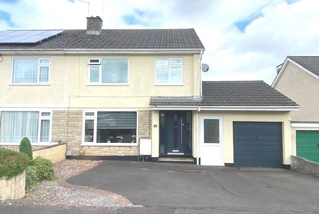 Thumbnail Semi-detached house for sale in Somer Avenue, Midsomer Norton, Radstock