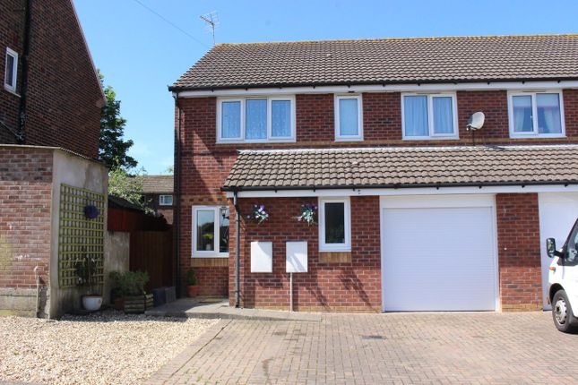 Thumbnail Semi-detached house for sale in Cedar Road, St Athan, Barry