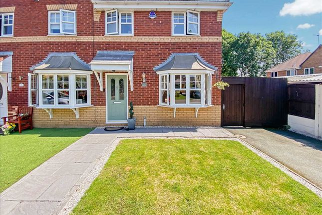 Thumbnail Semi-detached house for sale in Keats Close, Widnes